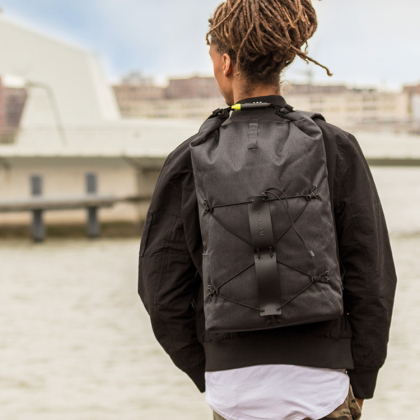 Stöldskyddad ryggsäck med kodlås