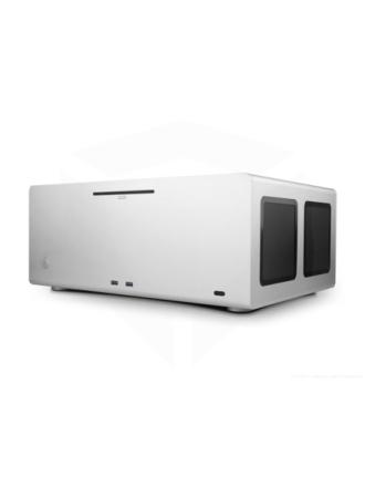 F12C with Optical & USB - Silver - Kabinet - Desktop - Sølv
