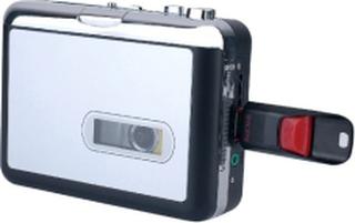 REDAMIGO USB MP3 cassette capture to MP3 USB Cassette Capture Tape without PC,USB Cassette Converter MP3 Cassette to MP3 CR231