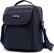 New Arrival Men's Shoulder Bag Waterproof Nylon Multi-layer Crossbody Bag For Men Black Small Casual Travel Bag Men bolso hombre