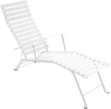 Fermob - Bistro Chaise Longue, Cotton White