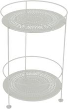 Fermob - Guinguette Perforert Sidebord Ø40 cm, Cotton White
