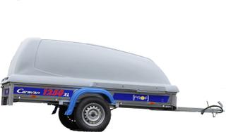 Släpvagn Caravan Prof 1250XL Kåpa Medföljer