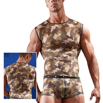 Militær Shirt til Ham - boutiqueerotic