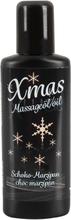 Jule Massage Olie med Choko og Marcipan Duft