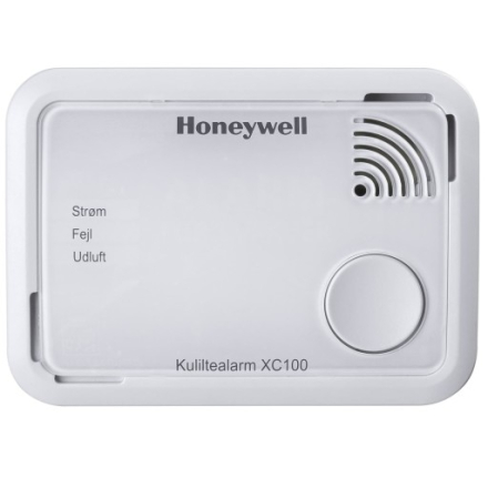 Honeywell XC100 kuliltealarm i hvid