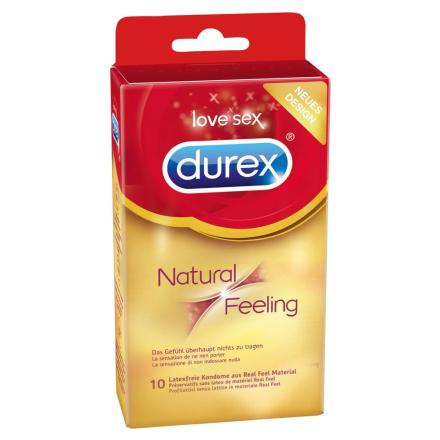 Allergivenlig Kondom Durex Natural Feeling
