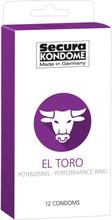 Secura El Toro Kondom med Potensring