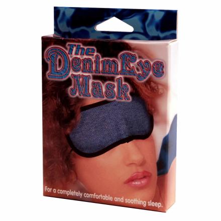 Jeans Øjenmaske - The Denim Eye Mask - boutiqueerotic