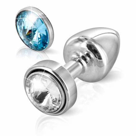 Diogol ANNI Magnet T1 Anal Plug med Swarovski Krystal