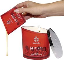 Massageolie Vokslys Senze med forførende duft