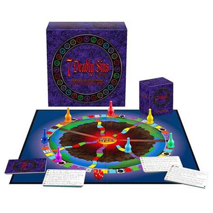 7 Deadly Sins Game Erotisk Brætspil