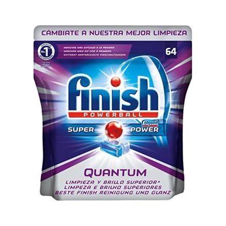 Diskmaskintabletter Finish Quantum (64 st)