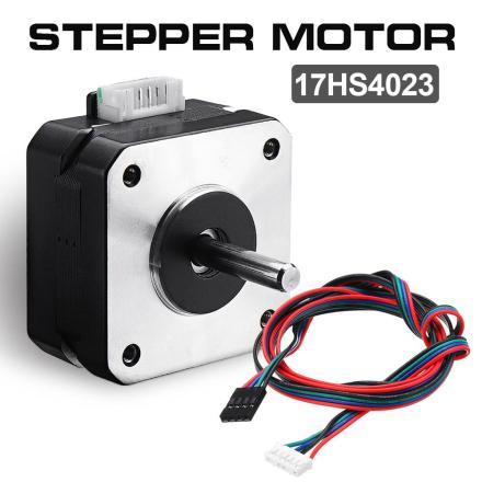1Pcs 17HS4023 12V Nema 17 23mm Stepper Motor For Titan Extruder 3D Printer Motor with Wire Kit