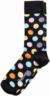 Happy Socks Big Dot Sock Strumpor Black
