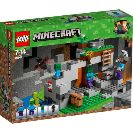 LEGO Minecraft, 21141 LEGO® MinecraftT Zombiegrotten - CDON.COM