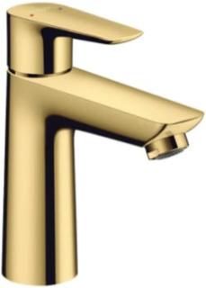 Hansgrohe Talis E 110 håndvaskarmatur m/bundventil, poleret guld-optik