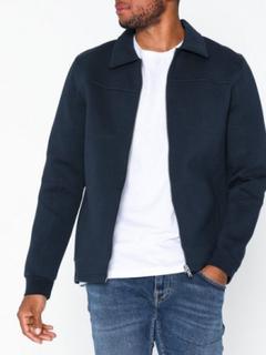 Selected Homme Slhalex Sweat Jacket B Trøjer Mørkeblå