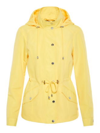 VERO MODA Transitional Jacket Women Yellow