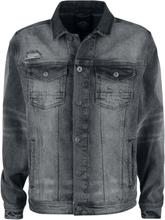 Shine Original - Denim Jacket Metal Grey -Dongerijakke - mørkegrå