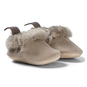 Easy Peasy Minion Shearling Crib Shoes Taupe 16/17 (UK 0-1) - Babyshop