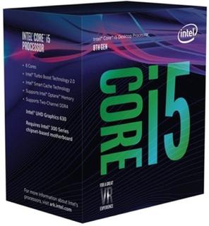 Processor Intel Intel® Core™ i5-8400 Processor BX80684I58400 Intel Core i5 8400 2,8 Ghz 9 MB LGA 1151 BOX