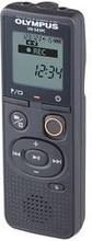 Olympus VN-541PC Digital Diktafon Optagetid (max.) 2080 h Sort Støjreduktion