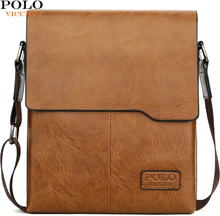 VICUNA POLO Classic Famous Brand Soft Leather Man Messenger Bags With Wallets Male Business Bag Set Casual Mens Crossbody Bags