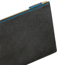 Laptopfodral (svart/blå) - 13-15 Tum