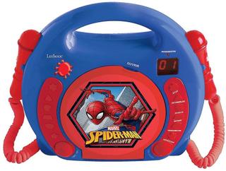 Lexibook RCDK100SP Spider-Man barnens bärbar CD-spelare med mikrofon