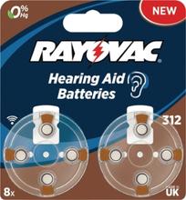 PR41 Batteri till hörapparater 8-Pack