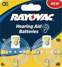 PR70 Batteri till hörapparater 8-Pack