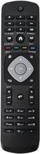Universal Philips Smart Tv-fjärrkontrollersättning Svart