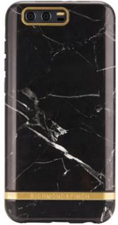 Richmond & Finch skal till Huawei Honor 9 - Black Marble - Silver