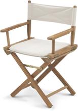 Skagerak Director's Chair - indoor teak canvas