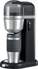 KitchenAid Coffee To-Go Kaffebrygger Sort + Termokrus 54 cl