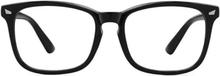 Anti Blue Light-glasögon Med Blåljusfilter - Svart