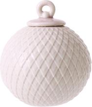 Lyngby Rhombe Kule Rosa 7 cm -Tilbu