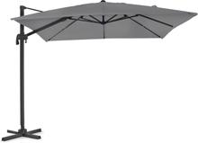 Linz parasoll antracit/grå 3x3 m