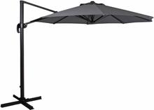 Linz parasoll antracit/grå 3 m
