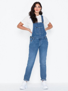 Lee Jeans Relaxed Worker Bib Light Stone Loose fit