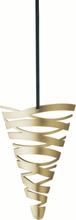 Stelton Tangle Kremmerhus liten Messing B: 9 H: 13 cm