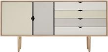 Andersen S6 Sideboard Såpet Eik / Multifarget