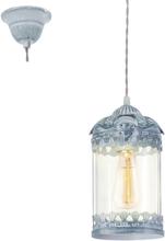 Eglo Langham Tak Grå-Blå / Glass