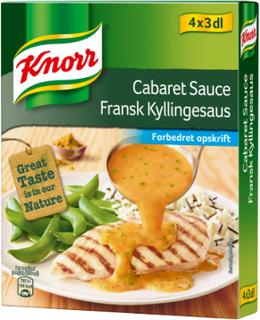 Knorr Cabaretsauce 4 x 27 g