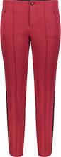Byxa, modell Anna Galon, tumlängd 30 från Mac röd