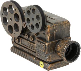 Hjemsøkt Film Projektor med Lyd, Lys og Bevegelse