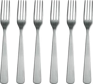 Normann Copenhagen Normann Forks - 6 pack Steel