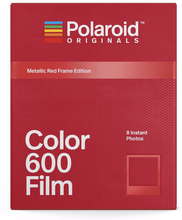 Polaroid Originals Color Film For 600 Metallic Red Frame, Polaroid Originals