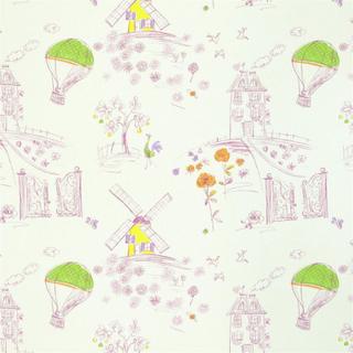 Designers Guild Meadowsweet Blossom Tyg